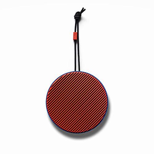 Vifa City - Bluetooth 5.0 Lautsprecher | Tragebare, kabellose Musikbox | Skandinavisches Design - Ultramarine Koralle