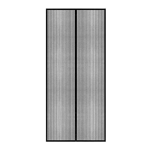 XIANPING Magnet Vorhang Fliegenvorhang 170x200cm Fliegengitter Tür Magnet Insektenschutz Mit Klettverschluss...