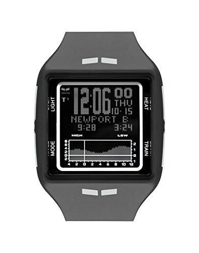 Vestal Brig Steel Watch Black-Steel-Negative