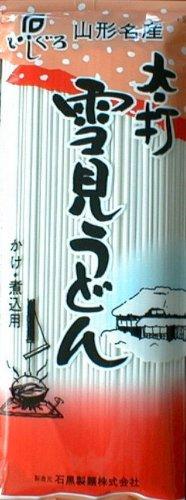 石黒製麺 太打ち雪見うどん 250g