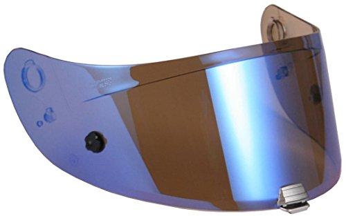HJC Visier für Integralhelm R-Pha 10/plus, Tönung blau verspiegelt
