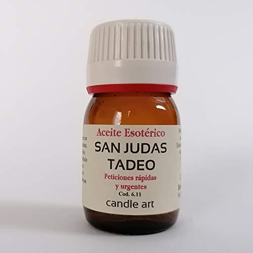 Candle Art Aceite con extracto de Plantas San Judas Tadeo - UNGIR Velas