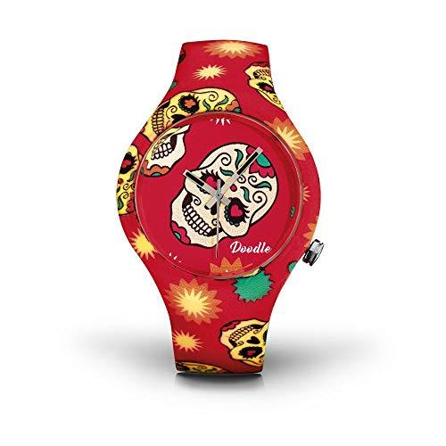Reloj de calavera Doodle Watch unisex Calaveras Mood