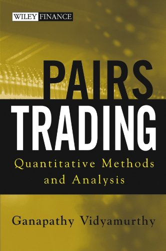 Pairs Trading: Quantitative Methods and Analysis (Wiley Finance Book 217) (English Edition)