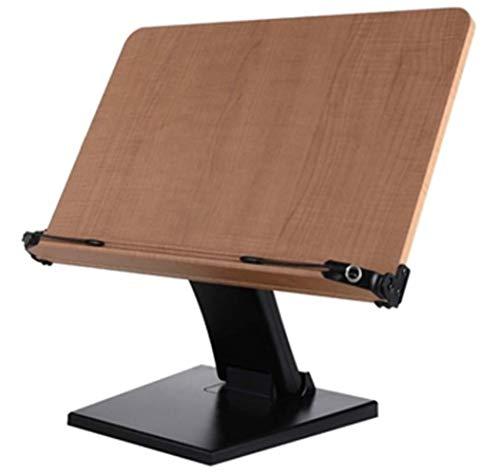 [アイレベル] Eye level 読書台 高低調整可能 ブックスタンド タブレット台 レシピ台 多用途使用 大人から子供まで利用可能 壁掛け (N40-B)