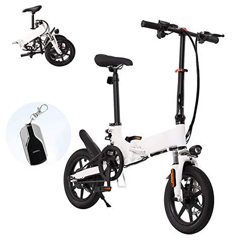 CYC Bicicleta Eléctrica Plegables Fat Tire Ebike Ruedas de 14