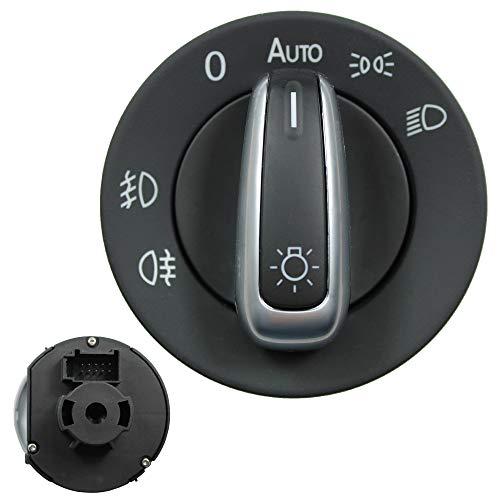 KONIKON Auto Lichtschalter kompatibel mit Golf 5 6 Jetta EOS Passat Caddy Touran 5ND941431B 3C8941431A Neu