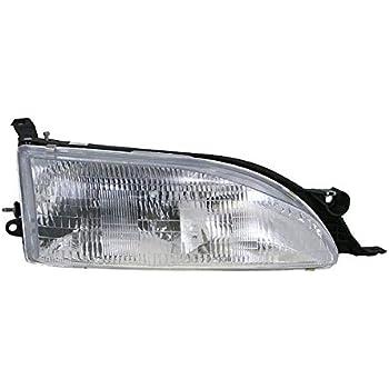 Amazon Com Headlight Headlamp Passenger Side Right Rh For 95 96 Toyota Camry Automotive