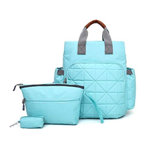 Suang eenvoudige grote capaciteit mama kraamtas multifunctionele luier rugzak babyverzorging tas reizen rugzak