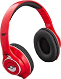 Bluetooth Headphones with Microphone Voice Activation and Bonus Aux Cable (Pokemon)