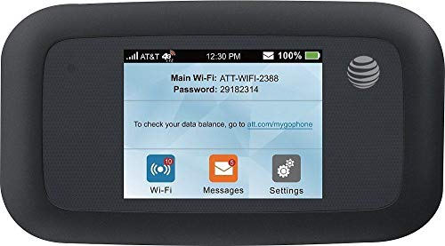 ZTE Velocity | Mobile Wifi Hotspot 4G LTE Router MF923 | Up to 150Mbps Download Speed | WiFi Connect Up to 10 Devices | Create A WLAN Anywhere | GSM Unlocked - Black