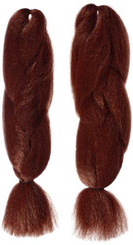 American Dream - H28/35 - Natte Super Douce - Couleur 35 - Rouge Cuivre - Lot de 2