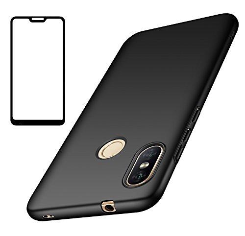 UCMDA Funda Xiaomi Mi A2 Lite, Carcasa Xiaomi Mi A2 Lite con Protector de Pantalla