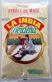 La India Verdena Toasted Corn Pinole 100 Natural