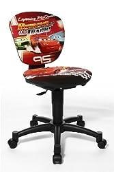 Chaise de bureau enfant aux motifs Disney Cars
