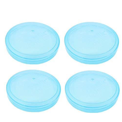 Best Price Basilic Baby Formula Milk Powder Dispenser Container Replacement Lids (Lid-(D097)-blue-4pcs)