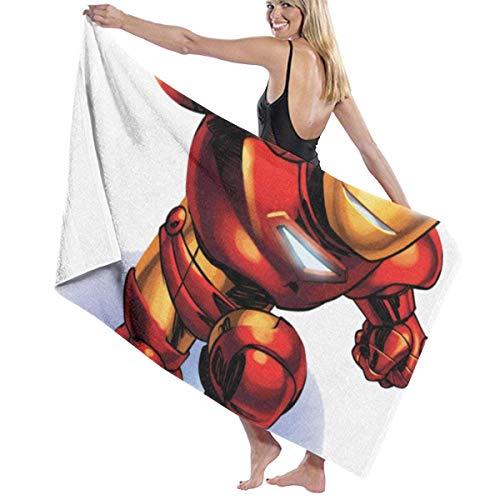 Mengghy Iron-Man - Juego de toallas de playa para baño