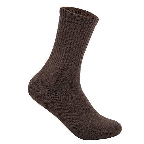 DODOING-DE 1 Paar Frauen Damen Socken Winter Dicke Warme Terry Socken Baumwolle Socken
