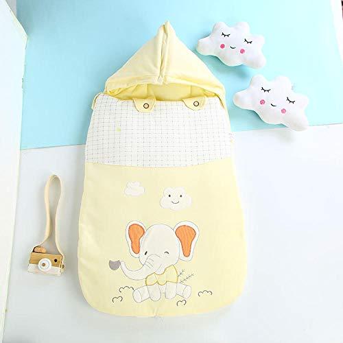 Saco de dormir de algodón transpirable para bebé manta para asiento de coche para recién nacidos perfecta para cochecitos cunas para niños de 0 a 12 meses
