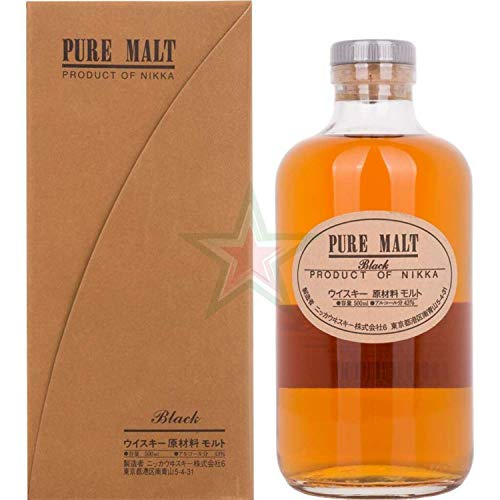 Nikka Pure Malt Black 43,00% 0,50 lt.