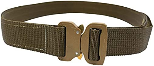Elite Survival Systems CO Shooters Belt with Cobra Buckle, Coyote, Medium (CSB-T-M)