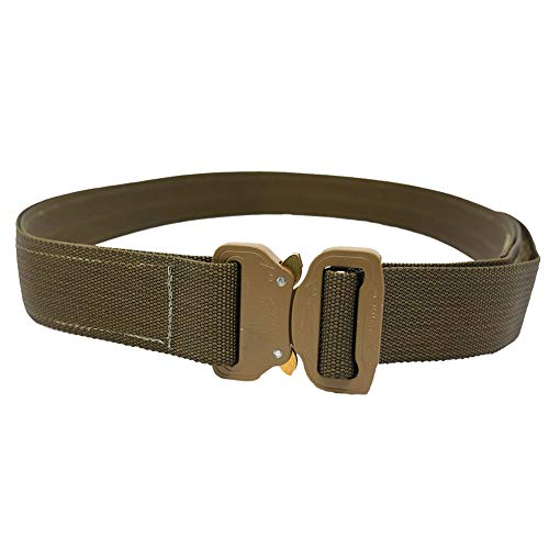 Elite Survival Systems CO Shooters Belt with Cobra Buckle, Coyote, Large (CSB-T-L)