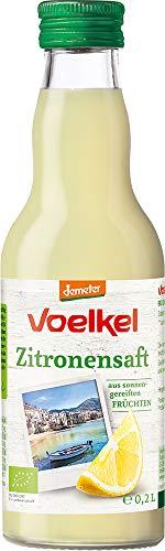 Voelkel Bio Zitronensaft - 100% Direktsaft (6 x 200 ml)