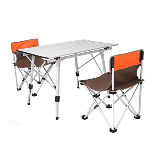 BBQ Camping Table Pliante Ultra Léger Multi-fonction Portable Table Extérieure Portable Loisirs Sketch Bureau Pliant Table (Color : E)