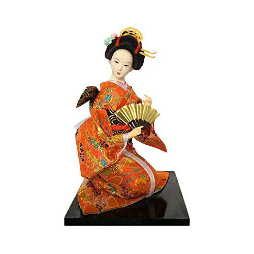 """12"""" Geisha Japonesa Oriental muñeca, Kimono del Geisha de Maiko de la muñeca de la marioneta, Asia Geisha de Colección Decoración Figura o Regalo,#020"""