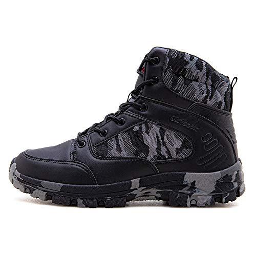 Sneaker da Uomo per l'allenamento delle Scarpe da Corsa per Lo Sci di Fondo Fitness per Il Tempo liberoCenere nera39