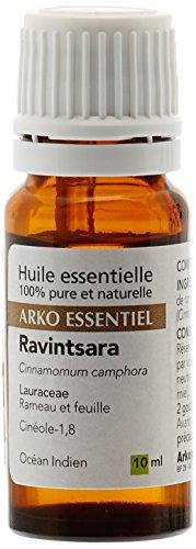 Arkopharma Huile Essentielle Unitaire Ravintsara/Cinnamomum Camphora Cinéole 1,8 Flacon de 10 ml