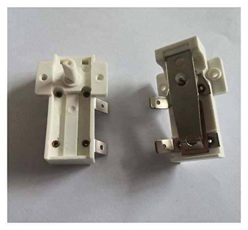 XIAOFANG Calentador eléctrico Piezas de Aceite Radiador termostato T100 250V 15A KSD-A01