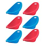 American Plastic Toys APT-13150-6PK Scoop Rocker Chair, Red and Blue (6 Pack)