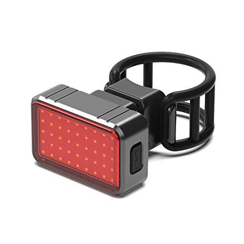 WT-DDJJK Luces traseras de la Bicicleta, luz Trasera Recargable de la Cola del Flash de la Bicicleta del USB LED Que Completa un Ciclo la luz Trasera de la Bicicleta 100LM