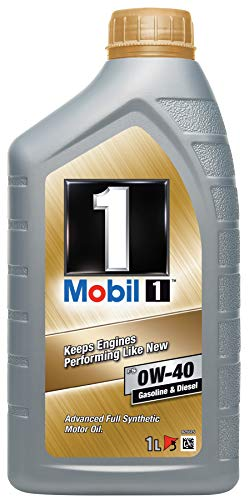 Mobil 1 FS 0W-40 -Lubricante Motor Automóvil, 1 litro