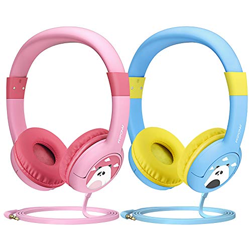 Mpow Kids Headphones, CH1 Wired Headphones Children On Ear, Friendly Safe...