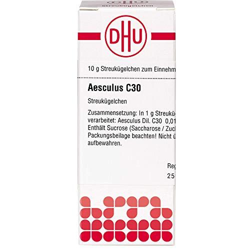 DHU Aesculus C30 Streukügelchen, 10 g Globuli