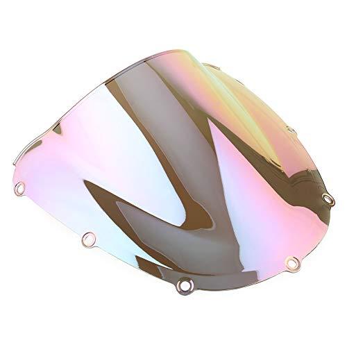 OYiRY Piezas De Motocicleta Protector De Parabrisas/Ajuste para CBR954RR 2002-2003 (Color : Iridium)