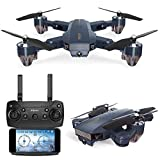 XHXseller 480P 720P Mini Drone Remote Control Aircraft Helicopter FPV Camera WiFi Quadcopter Gravity Sense Foldable RC Drone for Beginners