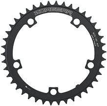 Zoagear Single Speed Chainring 130 BCD 42 Teeth Track Fixed Gear Bike Black