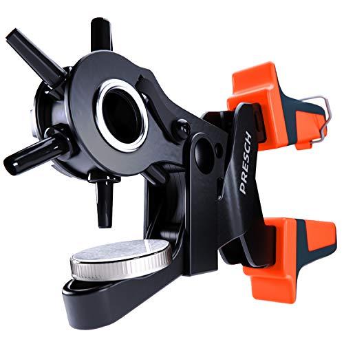 Presch alicates de agujero para cuero - revólver con multiplicación palanca fieltro, tela, papel, cartón - profesional