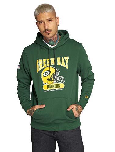 New Era Herren Kapuzenpullover NFL Archie Hoody Green Bay Packers - Dk Green M