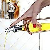 BRKURLEG - 5 boquillas con Tapa, dosificador de Bebidas alcohólicas para Vino o Licor, pa...