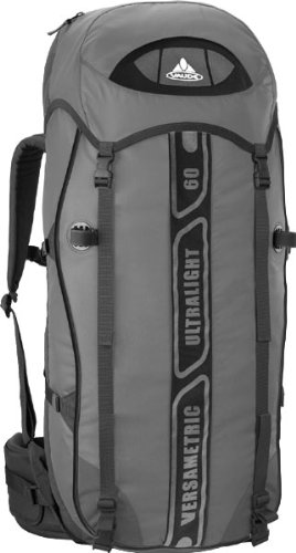 VAUDE Versametric Ultralight 60+10 anthracite/black 60+10 Liter