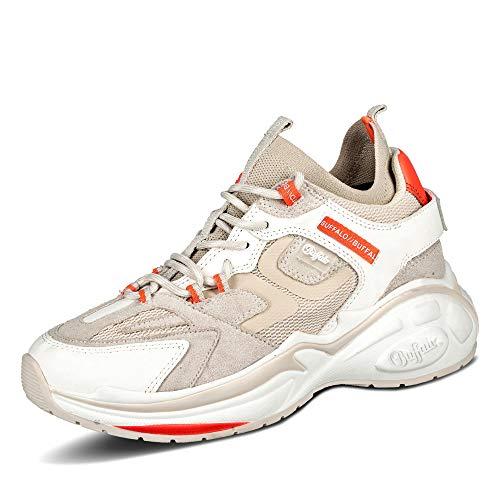Buffalo Damen Mellow S2 Hohe Sneaker, Beige (Cream 000), 39 EU