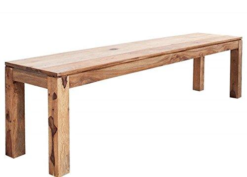 Design Banc - PURE - En bois de sheesham massif - 160 cm #35332