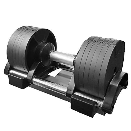 manubri palestra esagonali FTW Manubri Portatili Regolabili Manubri Regolabili Automatici 20kg 32kg (Color : 1pcs 32kg)