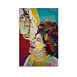 Aretha Franklin Poster dekorative Malerei Leinwand