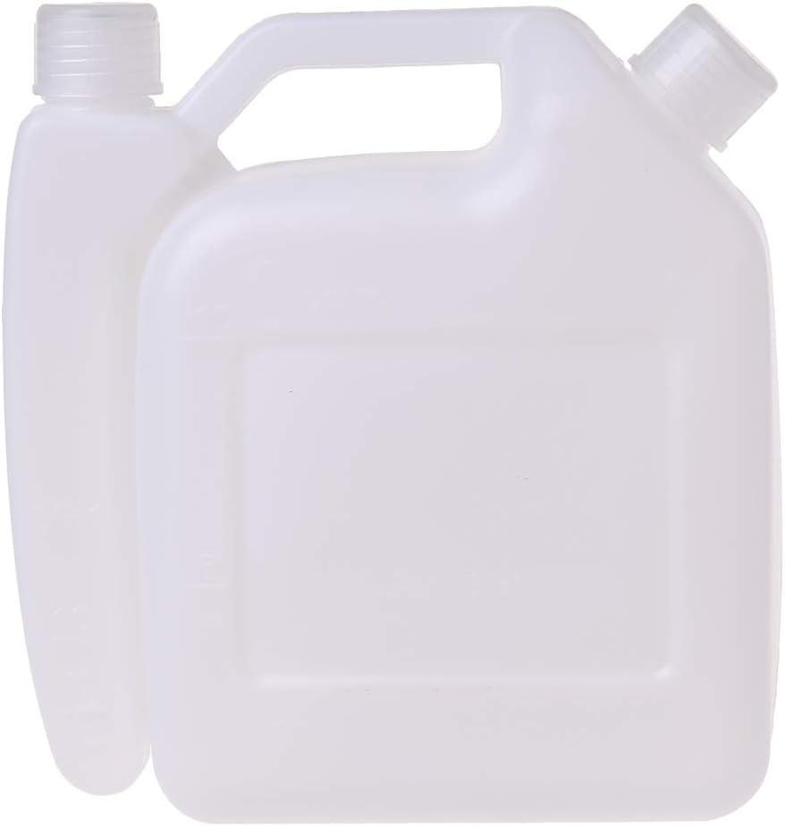 1.5L L 2-Stroke Gasolina Aceite Mezclador Tanque De La Botella Para Recortadora Motosierra Herramientas Piezas 1:25
