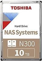Toshiba N300 10 TB NAS 3.5'' SATA Interne Festplatte. 24/7-Betrieb, optimal für NAS mit 1–8 Einschüben, 256 MB...